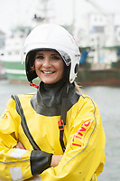 02/07/2017 REPRO FREE:  <br /> RNLI Dun Laoghaire Laura Jackson at Seafest 2017, the National Maritime Festival which runs from Friday 30June to Sunday 2July in Galway.<br /> . Photo:Andrew Downes, xposure .