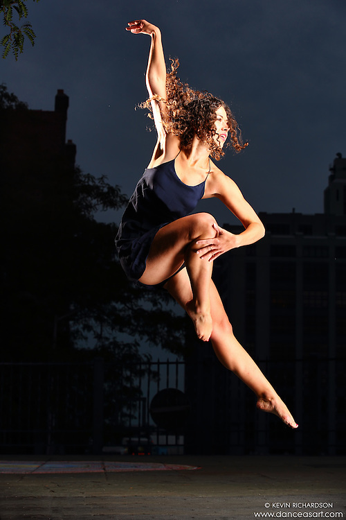 Dance As Art New York City Photography Project Brooklyn Heights Promenade Series with dancer Maja Bakija