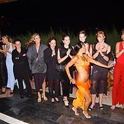 Miss Nederland 2003 reis Turkije, diner aan zee, hotel, buikdanseres, alle missen