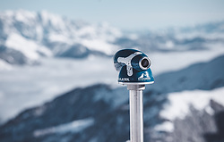 THEMENBILD - ein Aussichtsfernrohr am Kitzsteinhorn, aufgenommen am 10. November 2019, Kaprun, Österreich // a telescopic sight at the Kitzsteinhorn on 2019/11/10, Kaprun, Austria. EXPA Pictures © 2019, PhotoCredit: EXPA/ Stefanie Oberhauser