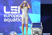 Ruta Meilutyte (LTU) competes on Women's 100 m Breaststroke during the Swimming European Championships Glasgow 2018, at Tollcross International Swimming Centre, in Glasgow, Great Britain, Day 3, on August 4, 2018 - Photo Stephane Kempinaire / KMSP / ProSportsImages / DPPI
