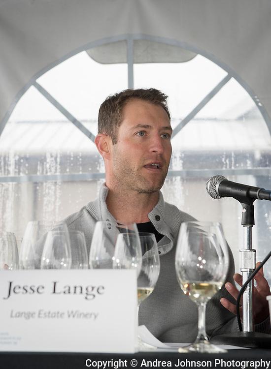 Jesse Lange of Lange Estate Winery, 3rd annual Oregon Chardonnay Symposium, Stoller Vineyards, Dundee Hills, Oregon