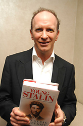 SIMON SEBAG-MONTEFIORE at the 2007 Costa Book Awards held at The Intercontinental Hotel, One Hamilton Place, London W1 on 22nd January 2008.<br /> <br /> NON EXCLUSIVE - WORLD RIGHTS (EMBARGOED FOR PUBLICATION IN UK MAGAZINES UNTIL 1 MONTH AFTER CREATE DATE AND TIME) www.donfeatures.com  +44 (0) 7092 235465