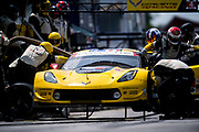 August 17-19 2018: IMSA Weathertech Michelin GT Challenge at VIR. 3 Corvette Racing, Corvette C7.R, Jan Magnussen, Antonio Garcia