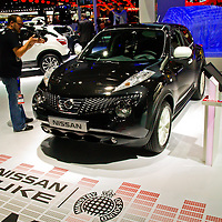 Nissan Juke exclusive with Ministry of Sound at the Paris Motor Show 2012