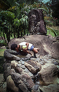 Copyright JIm Rice © 2013<br /> Local Boy<br /> Nuka Hiva<br /> Marquesas Islands