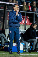 AMSTERDAM - Jong Ajax - FC Eindhoven , Voetbal , Jupiler league , Seizoen 2016/2017 , Sportpark de Toekomst , 24-02-2017 , Eindhoven trainer/coach Ricardo Moniz