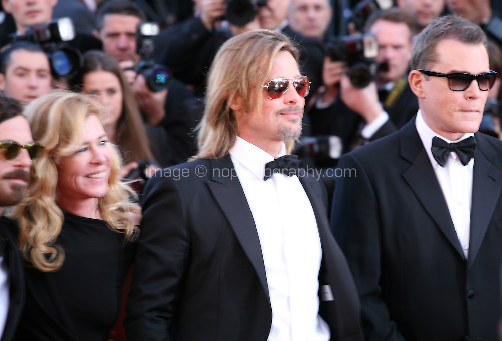at the Killing Them Softly gala screening at the 65th Cannes Film Festival France. Tuesday 22nd May 2012 in Cannes Film Festival, France.