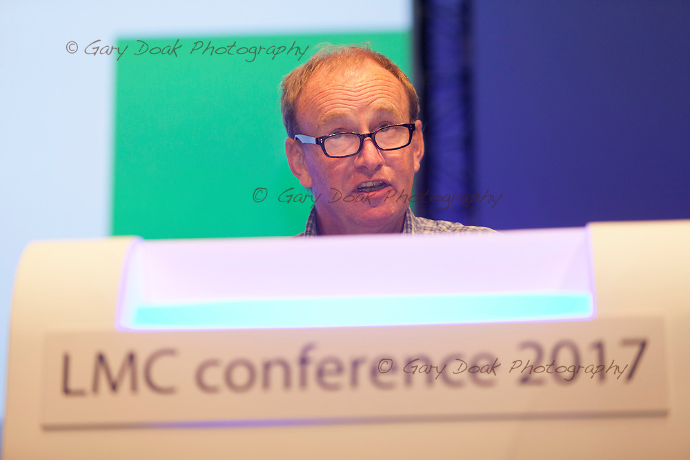 Alan Mills<br /> BMA LMC's Conference<br /> EICC, Edinburgh<br /> <br /> 18th May 2017<br /> <br /> Picture by Gary Doak