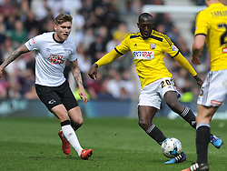 Toumani Diagouraga Brentford, Derby County v Brentford, Sy Bet Championship, IPro Stadium, Saturday 11th April 2015. Score 1-1,  (Bent 92) (Pritchard 28)<br /> Att 30,050