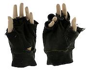 mannequin hands with fingerless gloves