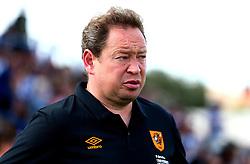 Hull City manager Leonid Slutsky - Mandatory by-line: Robbie Stephenson/JMP - 18/07/2017 - FOOTBALL - Estadio da Nora - Albufeira,  - Hull City v Bristol Rovers - Pre-season friendly