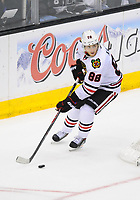 26 May 2014 Chicago Blackhawks Right Wing Patrick Kane 88  during Game 4 of The Western Conference Final between The Chicago Blackhawks and The Los Angeles Kings AT The Staples Center in Los Angeles Approx NHL Ice hockey men USA May 26 Stanley Cup Playoffs Western Conference Final Blackhawks AT Kings Game 4 <br />