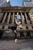 New York Stock Exchange Ballerina featuring Mykaila Symes-Dance As Art New York City Photography