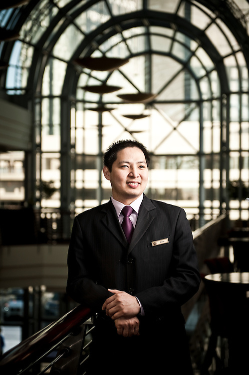 Arnulfo Guinto, Assistant Chief Concierge, Dusit Thani Dubai.