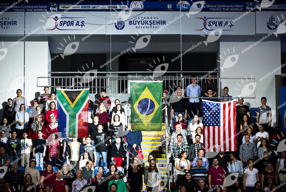 Crowds.FINA World Short Course Swimming Championships.Istanbul Turkey 12 - 16 Dec. 2012.Day 04.Photo G.Scala/Deepbluemedia/Inside
