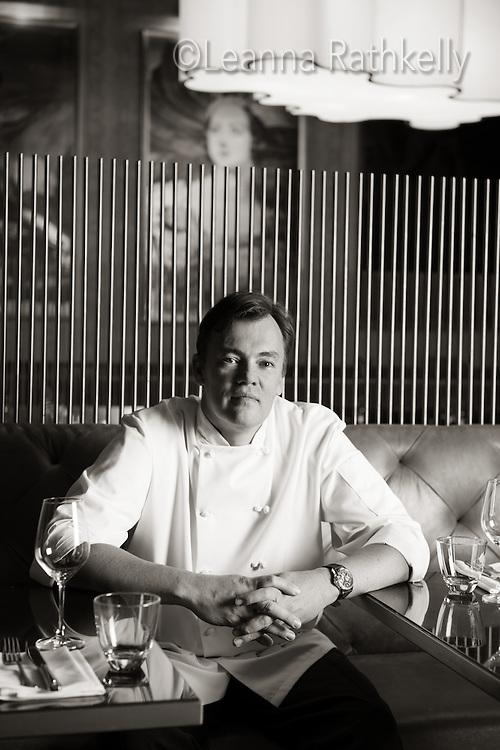 Chef Juan Bochenski heads up the restaurants at the Fairmont Empress Hotel in Victoria, BC