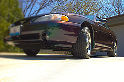 18 April 2014:   1996 Ford Mystic Cobra Mustang