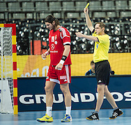 Spain - Barcelona..21/01/13.Handball World Cup round of 16:  Hungary - Poland...Photo: Johnny Wichmann / billedbyroet