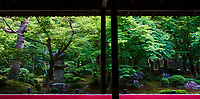Japon, île de Honshu, région de Kansaï, Kyoto, temple Enko-ji // Japan, Honshu island, Kansai region, Kyoto, Enko-ji temple
