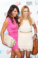 LONDON - July 09: Lizzie Cundy & Kate Walsh at Andy Newton-Lee's Next Stop LAX - London Launch (Photo by Brett D. Cove)