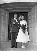 500 1954 O'Neill McShane Wedding at Four Courts Hotel and Corpus Christi Church