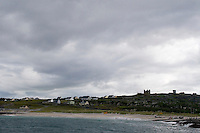 View of Inis Oirr the Aran Islands from the sea, Galway, Ireland