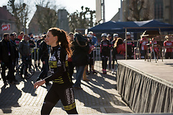 Esra Tromp at Women's Gent Wevelgem 2017. A 145 km road race on March 26th 2017, from Boezinge to Wevelgem, Belgium. (Photo by Sean Robinson/Velofocus)