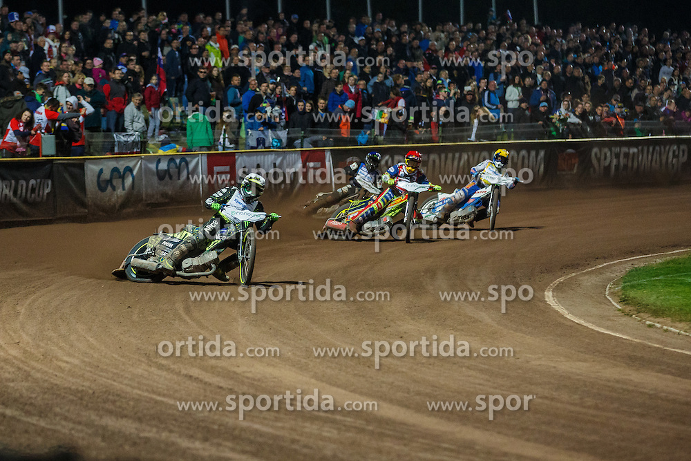 ANTONIO LINDBACK of Sweden,  Piotr Pawlicki of Poland, Tai Wolfinden of Great Britain and Nicki Pedersen of Denmark during FIM Speedway Grand Prix World Cup, Krsko, on 30. April, 2016, in Spo, rts park Krsko, Slovenia. Photo by Grega Valancic / Sportida