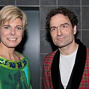 NLD/Rotterdam/20110202 - Boekpresentatie Mr. Finney door pr. Laurentien, samen met Gerard Alderliefste