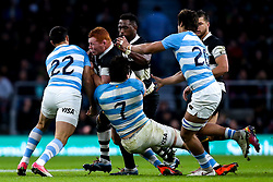 Steven Kitshoff of Barbarians is tackled - Mandatory by-line: Robbie Stephenson/JMP - 01/12/2018 - RUGBY - Twickenham Stadium - London, England - Barbarians v Argentina - Killick Cup
