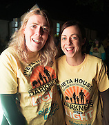 Maureen Forde Shaneaglaise and Clare Foley Gort DIL Darkness into Light walk in Kinvara in aid of Pieta House  :<br />  Photo:Andrew Downes, XPOSURE