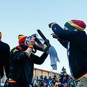 Team Quaffstafari celebrating winning the 2015 Gelande Quaffing Championships.