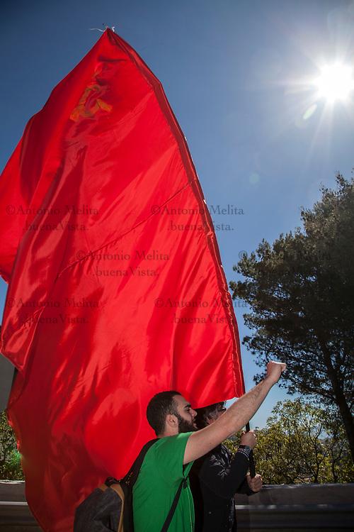 Manifestazione nazionale di CGIL, CISL e UIL a Portella della Ginestra nel 70° anniversario dalla strage.