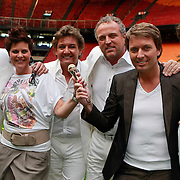 NLD/Amsterdam/20110519 - De Toppers kiezen de 5de Topper voor hun concert 2011, met winaars Danny Nicolai en Judith Peters