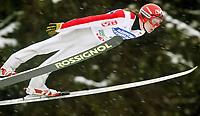 Bad Mittendorf-Kulm/2003-02-02/ Skiflygning Word Cup. <br />TOMMY INGBRIGTSEN (NOR)<br />Foto Calle Tšrnstršm