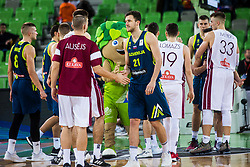 Blaz Mahkovic of Slovenia during basketball match between National teams of Slovenia and Latvia in Round #10 of FIBA Basketball World Cup 2019 European Qualifiers, on December 2, 2018 in Arena Stozice, Ljubljana, Slovenia. Photo by Grega Valancic