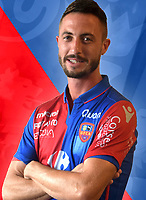 Romain Armand during photoshooting of Gazelec Ajaccio for new season 2017/2018 on September 26, 2017 in Ajaccio<br /> Photo : Gfca / Icon Sport