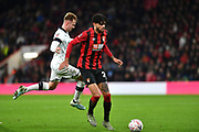 AFC Bournemouth midfielder Philip Billing (29)  during the The FA Cup match between Bournemouth and Luton Town at the Vitality Stadium, Bournemouth, England on 4 January 2020.