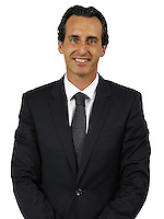 Unai Emery of PSG during PSG photo call for the 2016-2017 Ligue 1 season on September, 7 2016 in Paris, France<br /> Photo : C.Gavelle/ PSG / Icon Sport