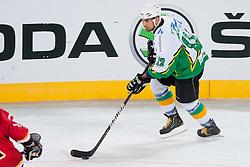 Luka Zagar during ice-hockey friendly match between legends of HDD Tilia Olimpija and HK Acroni Jesenice, on April 14, 2012 at SRC Stozice, Ljubljana, Slovenia. (Photo By Matic Klansek Velej / Sportida.com)