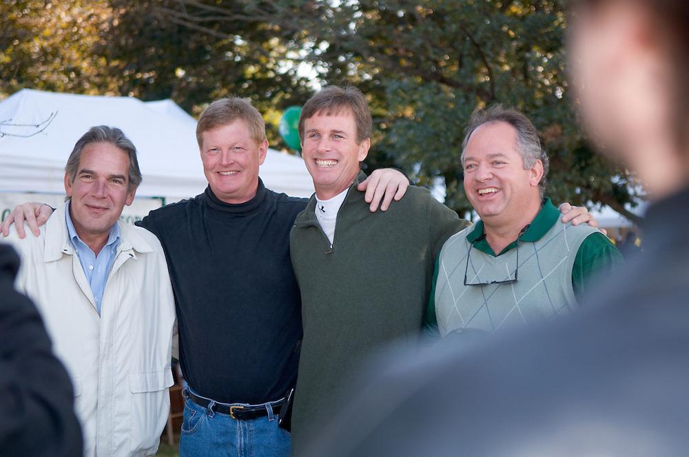 Beta Theta Pi past presidents..Jim Karikas, Dave Marshall, Penn Kurtz, Doung Schwarts