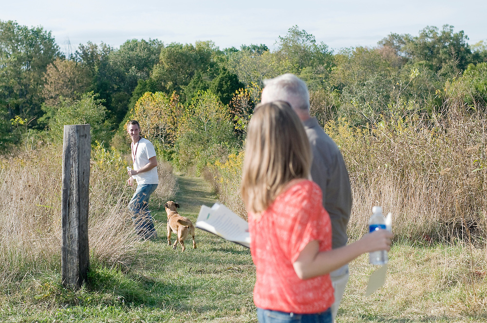 Wedding rehearsal at Blackacre Nature Preserve and Historic Homestead and dinner at Field Day Family Farm for KC Smith and Jed Cole Schneider, Friday Sept. 26, 2008 in Louisville, Ky. (Photo by Brian Bohannon)