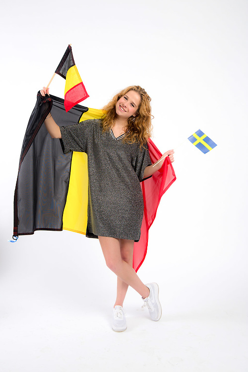 Brussels 28 April 2016<br /> Laura Tesoro , the belgian candidate for the Eurovision Song Contest 2016<br /> Credit Denis Closon / Isopix **** reference 00039398 **** *** local caption *** 00039398