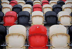 Empty Seats inside Rodney Parade. - Mandatory byline: Alex James/JMP - 19/03/2016 - FOOTBALL - Rodney Parade - Newport, England - Newport County v Bristol Rovers - Sky Bet League Two