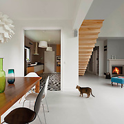 Modern home interior in Stare Wlochy Warsaw Poland , photography by Piotr Gesicki