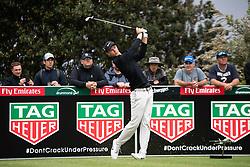 November 15, 2018 - Sydney, NSW, U.S. - SYDNEY, AUSTRALIA - NOVEMBER 15: Cameron Davis (AUS) tees off at Day 1 of The Emirates Australian Open Golf on November 15, 2019, at The Lakes Golf Club in Sydney, Australia. (Photo by Speed Media/Icon Sportswire) (Credit Image: © Speed Media/Icon SMI via ZUMA Press)