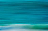 Blue blur of the ocean, D'Arros Island and St Joseph Atoll, Amirantees, Seychelles,