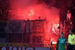 29.10.2011, Coface Arena, Mainz, GER, 1.FBL, Mainz 05 vs Werder Bremen, im Bild.Leuchtfeuer Fans Bremen..// during the 1.FBL, Mainz 05 vs SV Werder Bremen on 2011/10/29, Coface Arena, Mainz, Germany. Foto © nph / Mueller