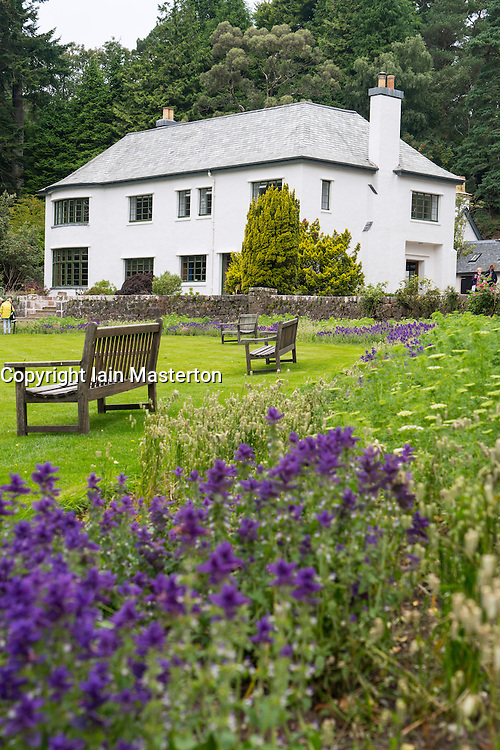 Inverewe House at Inverewe Garden , Wester Ross , Scotland, United Kingdom